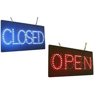Open Store Signs Closed Sign Super Bright High Quality Led Business Windows