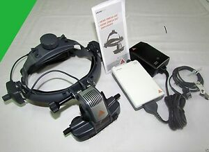 Heine Omega 500 Binocular Indirect Ophthalmoscope Set