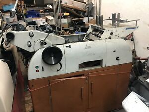 Multilith Offset Press 10x15 With Kompac And Envelope Feeder