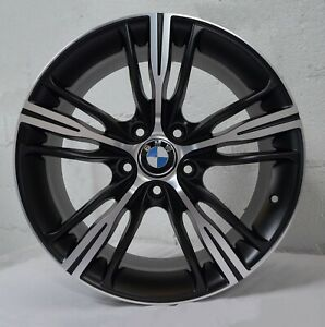 Set Of 4 Wheels 18 Inch Matt Black Rims Fits Bmw 430i Xdrive Gran Coupe 2018 19