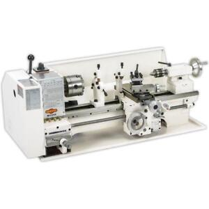 Shop Fox M1049x 9 X 19 Bench top Metal Lathe W Stand new In Box