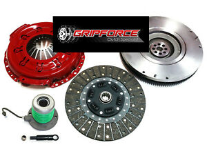 Kupp Race Stage 2 Clutch Kit slave Flywheel For 05 10 Ford Mustang 6cyl 4 0l