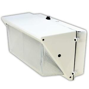 Led Wall pack Photo Cell 100w 5000k Commercial Outdoor Light Fixture