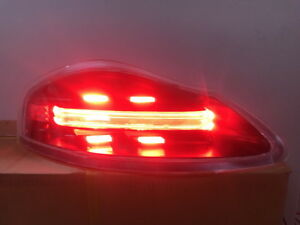 Porsche 986 Boxster 718 Style Led Tail Lights smoke Lens New Release