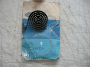 Nos 1965 Ford Truck Ford C5tz 9467 A Choke Housing Spring