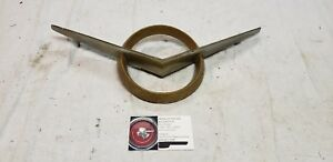 1956 Packard Grille Emblem Ring And V 6478207 6478208 Grill