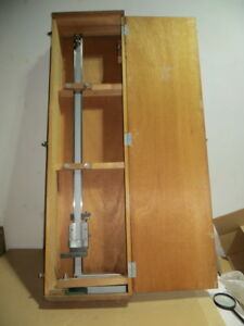 Mitutoyo 40 1000 Mm Vernier Height Gauge Used Excellent