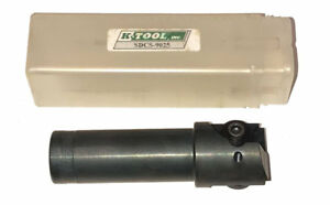 New K tool Sdcs 9025 Indexable Insert Spot Drill Countersink 1 Shank