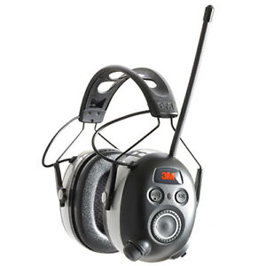 3m Worktunes Wireless Hearing Protector With Bluetooth Technology Am fm Radio