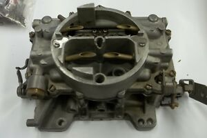Carter Afb Carburetor Removed From 62 Chevy 409 Dual Quad Front