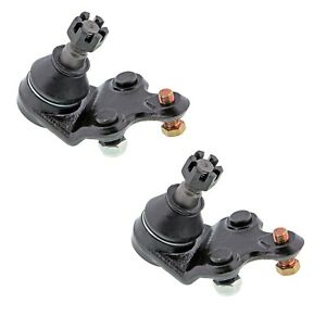 Pair Set 2 Front Lower Suspension Ball Joint Kits Mevotech For Chevy Nova 85 88