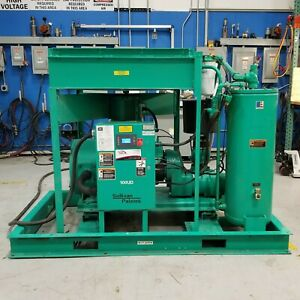 Used Sullivan Palatek 100 Hp Rotary Screw Air Compressor Low Hours 480 Volt