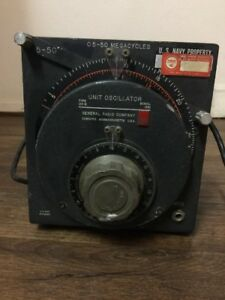 General Radio Unit Oscillator Type 1211 Gr 1211 b Genrad