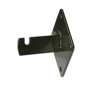 Gridwall Wall Mount Bracket Grid Panel Mounting Brackets Black 50 Pieces