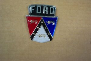 1954 1955 1956 Ford New Trunk Crest For Customline Mainline Wagons 54 55 56