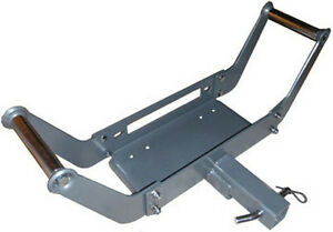 Removable Portable 2 Hitch Receiver Cradle Winch Mount Free Shipping