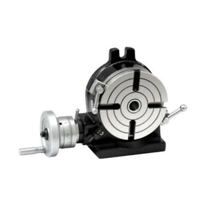 New 6 150mm Horizontal Vertical Rotary Table Mt 2 Center Precision Ground