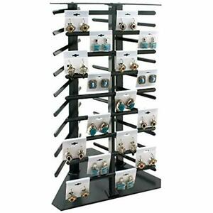 Rotating Jewelry Towers Earring Display 108 Cards Industrial Scientific
