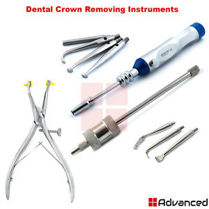 Dental Crown Removing Instruments Medical Surgical Oral Tools With Attachments