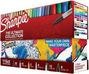 Sharpie Ultimate Pack Markers 115 pkg Ultimate Assorted Colors