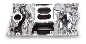 Edelbrock 75164 Sb Chevy Vortec Endurashine Rpm Air Gap Intake Manifold