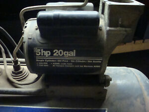 Devilbiss Mo 9075 5hp Electric Air Compressor Motor