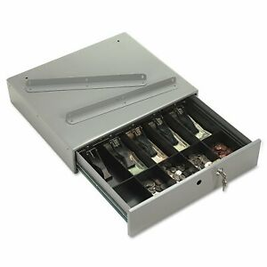 Pm Company Securit Steel Cash Drawer With Bell And Removable Cash Tray