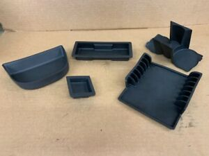 04 05 06 Pontiac Gto Center Console Rubber Inserts Complete Set Of 5 Gm Oem