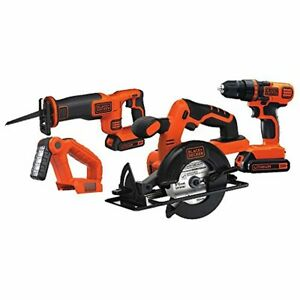 Tools Black Decker 20V MAX DrillDriver Circular and Reciprocating Saw