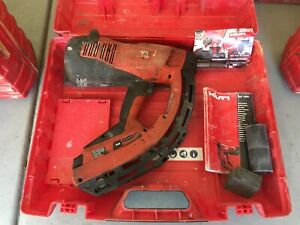 Hilti 274638 Gx120 Gas Actuated Fully Automatic Fastening Nail Gun 6 b11907b