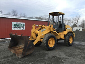 2001 John Deere 324h Compact Wheel Loader Only 1500 Hours