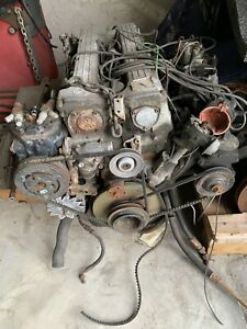 Mercedes M110 Engine With Transmission And All Accessories