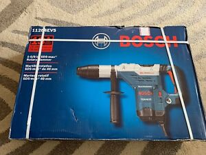 New Bosch 11264evs Rotary Electric Hammer Drill Kit 1 5 8 Sds Max Brand New