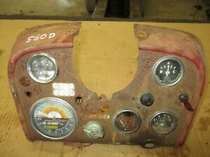 International Farmall 560 Dash Panel Assembly Antiquetractor