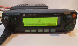 Motorola Xtl2500 700 800 Mhz Remote Mount P25 Digital Mobile Radio M21urm9pw1an
