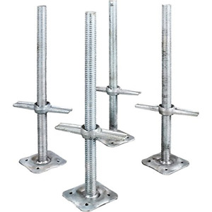 Adjustable Leveling Jacks 4pk For Baker style Scaffolding