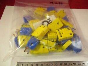 Lot Omega Thermocouple K T Connectors Assorted As Pictured 29 a 27