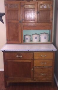 Antique Hoosier Cabinet Wilson Kitchen Cabinets