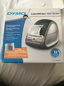 Dymo 93176 Labelwriter 400 Turbo Label Printer Power Supply Usb Cable