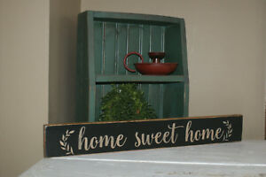 Wall Decor Sign Primitive Home Country Farmhouse Rustic Art Home