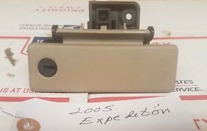 2005 Ford Expedition Glove Box Latch Lock Handle Beige