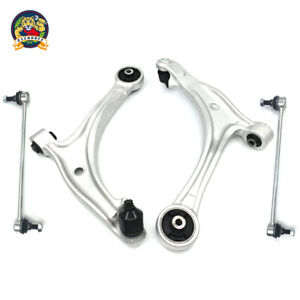 Front Lower Control Arm W sway Bar Link For Honda Odyssey 2007 2008 2009 2010