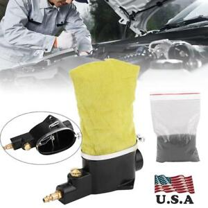 New Car Pneumatic Air Spark Plug Cleaner Cleaning Tool With Abrasive Us Stock