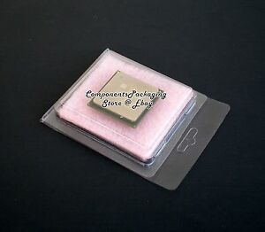 100 Intel Processor Cpu Clamshell Fits Cpu Up To 66 X 55 Mm Anti Static Foam