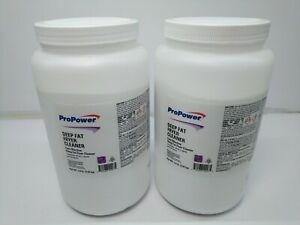 2 Lot Deep Fat Fryer Cleaner Powder Concentrate 4 9 Lbs Ea Sodium Hydroxide