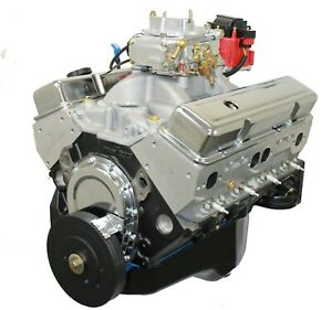 350ci Crate Engine Sbc Dressed Longblock Alum Heads Roller Cam 400hp