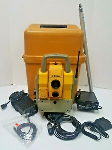 Trimble 5605 Dr 200 Robotic Total Station With Georadio And Rmt 606 Prism Used