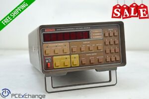 Keithley 230 Programmable Dc Voltage Source 199 95mv To 101v With Current Limit