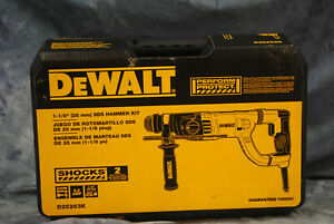 Dewalt 1 1 8 28mm Sds Hammer Kit D25263k new