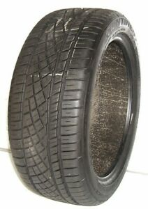 Used Continental Tire 225 45zr17 Continental Extremecontact Dws06 91w 2254517